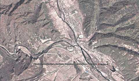 Bãi thử tên lửa Triều Tiên - Ảnh: Tiếng nói nước Nga