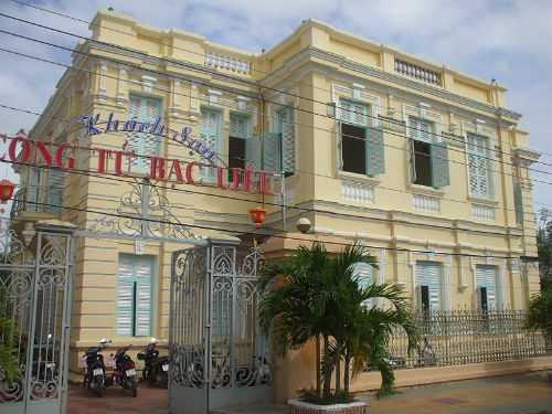 Nhà của Hắc Công Tử ngày nay là khách sạn Công Tử Bạc Liêu.