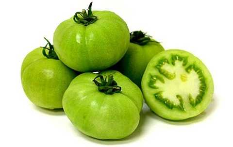 Cà chua xanh có chứa chất độc Solanine
