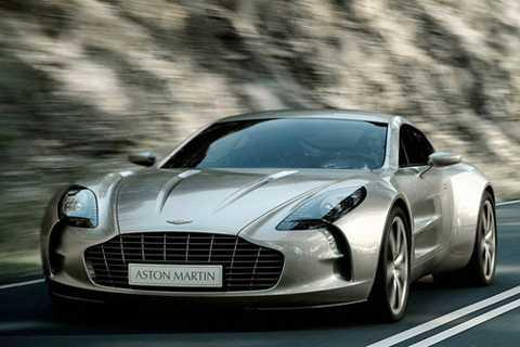 8. Aston Martin One-77.