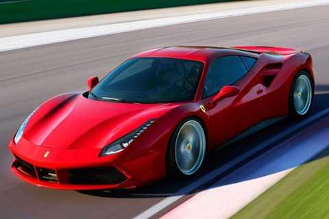 9. Ferrari 488 GTB.