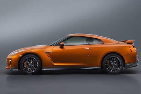 10. Nissan GT-R.