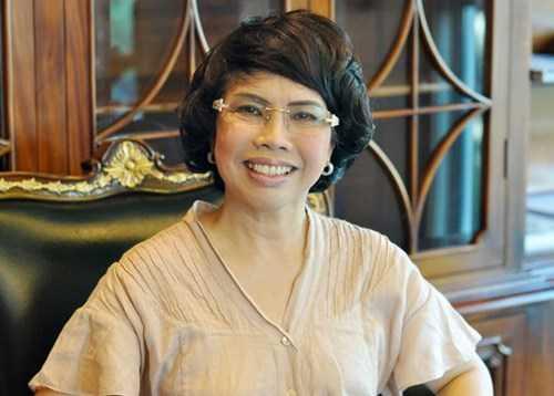 Bà Thái Hương - Chủ tịch HĐQT CTCP Thực phẩm sữa TH (TH True Milk).