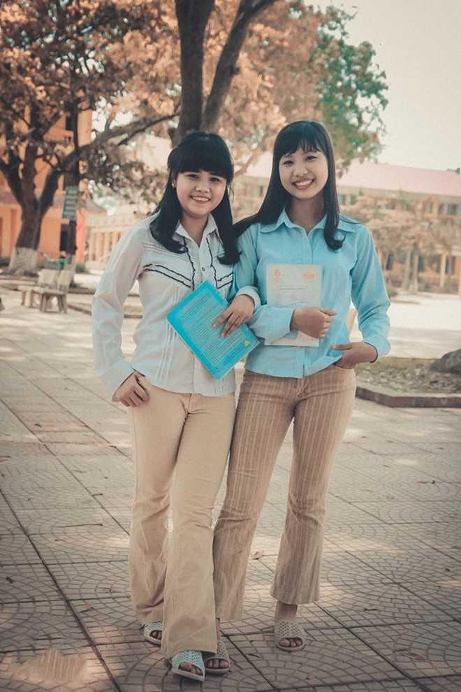Từ trang phục cho đến phụ kiện đi kèm đều cho thấy sự chuẩn bị chu đáo, ý tưởng mới lạ của các cô gái.