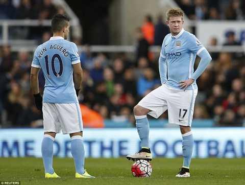 Man City bị Newcastle chặn lại