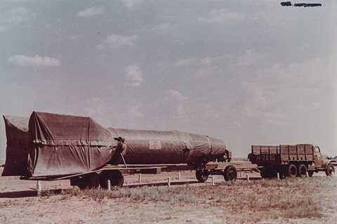 Tên lửa đạn đạo đầu tiên của Liên-xô R-1