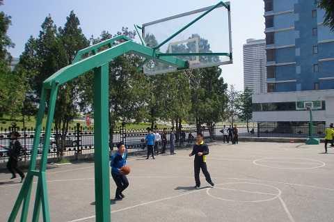 Hình ảnh về một sân bóng rổ