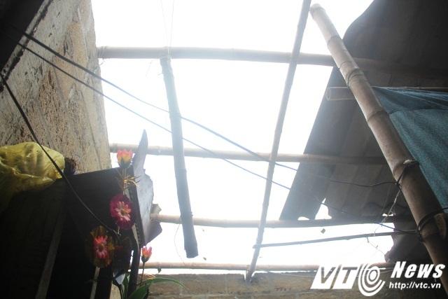 Các hộ dân đánh giá đây lần đầu tiên tại địa phương xã xảy ra trận lốc, mưa đá mạnh như vậy.