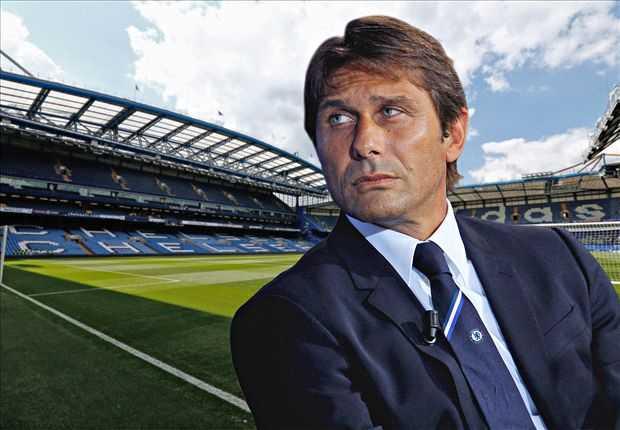 Conte là HLV trưởng Chelsea từ mùa giải 2016-17