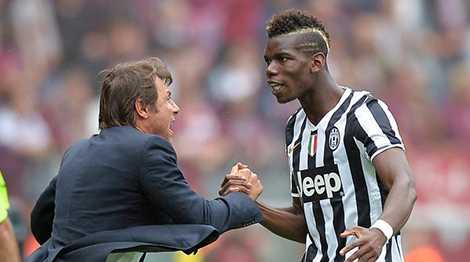 Conte chính là người đưa Pogba trở thành ngôi sao hàng đầu
