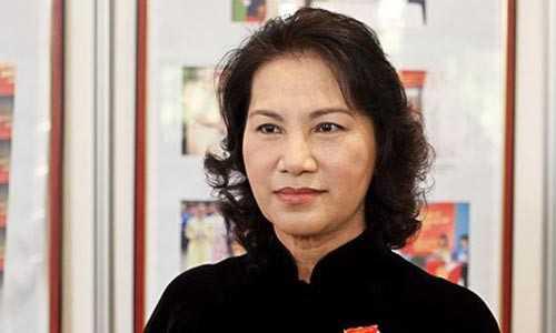 Bà Nguyễn Thị Kim Ngân trở thành nữ Chủ tịch Quốc hội đầu tiên của Việt Nam