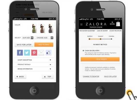Zalora - một trang web thương mại điện tử chuyên về thời trang của Rocket Internet
