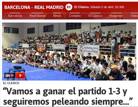 AS đưa tin về các CĐV Real Madrid tại Việt Nam