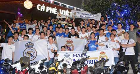 Một buổi offline của hội CĐV Real Madrid tại Việt Nam