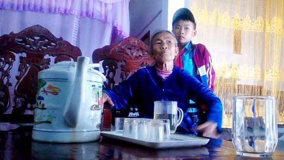 Bà Đặng Thị Toàn băn khoăn tiền dự án di - giãn dân bị thâm hụt.