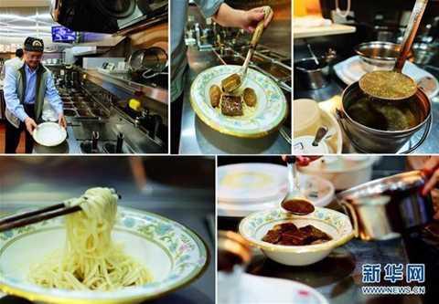 Trước đó, đầu bếp Wang Congyuan (Đài   Loan, Trung Quốc) đã cho ra đời món mỳ 6 vị với các loại thịt bò cao cấp   nhất thế giới. Được biết, mỗi bát mỳ loại đặc biệt này có giá lên tới   2.000 nhân dân tệ (tương đương gần 7 triệu đồng).