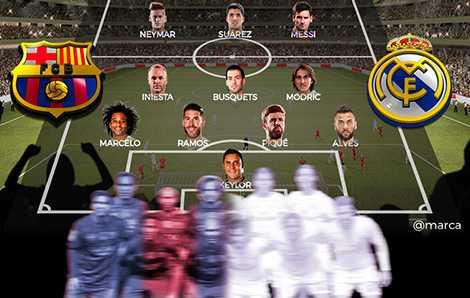 Chỉ có 4 cầu thủ Real Madrid góp mặt trong đội hình này