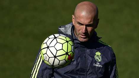 Zidane chấp nhận việc Real Madrid bị đánh giá thấp hơn