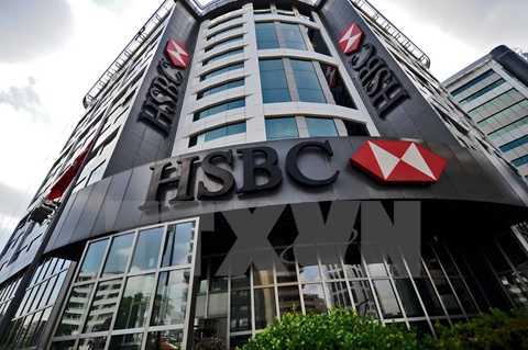 Trụ sở của HSBC tại Istanbul, Thổ Nhĩ Kỳ. (Nguồn: AFP/ TTXVN)