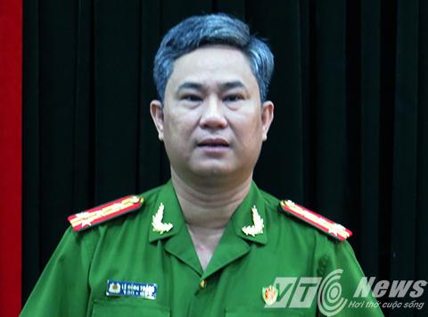 Đại tá Lê Hồng Thắng - Trưởng Phòng CSĐT Tội phạm về trật tự xã hội (PC45) – Công an TP Hải Phòng