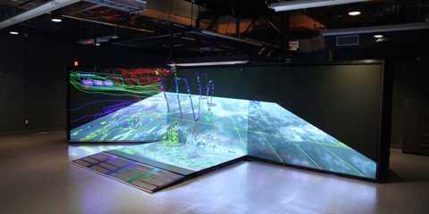 Khu vực chuyên biệt dành để chế tạo vệ tinh của Raytheon
