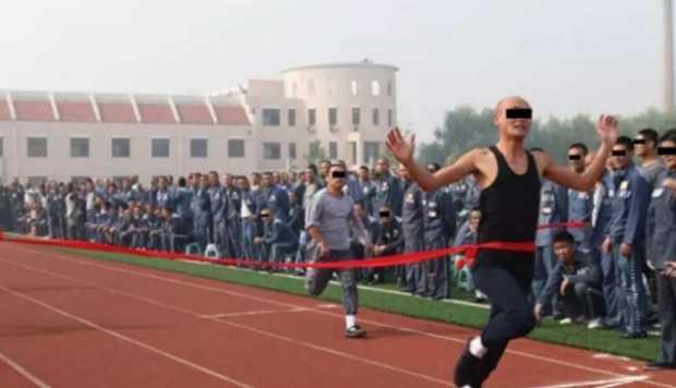 Hình ảnh về một cuộc thi điền kinh không khác gì một sự kiện thi đấu thể thao chuyên nghiệp.