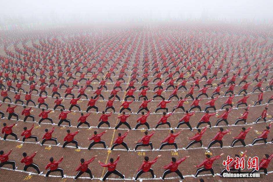 Trung Quốc mở cả học viện bóng đá Thiếu Lâm