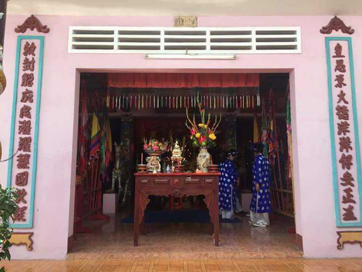 Đình cổ Tân Phong được xậy dựng từ thế kỷ 18, hiện tọa lạc tại khu phố 5, phường Tân Phong, TP Biên Hòa (Đồng Nai). Ảnh : Ngọc Quốc