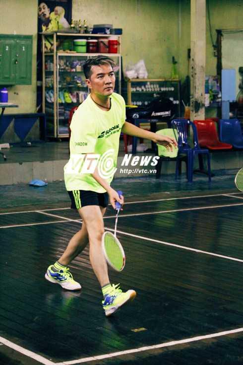 Đàm Vĩnh Hưng từng giành giải 3 đôi nam Giải cầu lông quận Thanh Khê (Đà Nẵng) tranh cúp Trần năm 2011