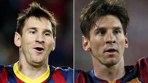 Messi đã giảm 4-5 kgso với 5 năm trước