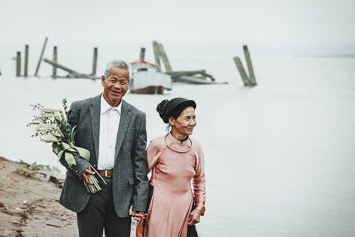 Bộ ảnh cưới thu hút sự quan tâm của dân mạng.