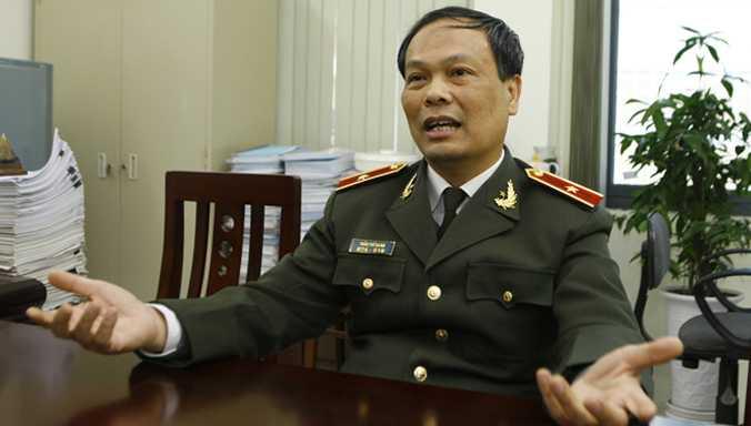 Thiếu tướng Trần Thế Quân (Ảnh: Tiền Phong).