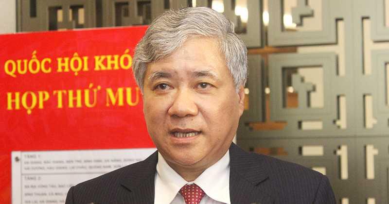 Bộ trưởng, Chủ nhiệm Ủy ban dân tộc Đỗ Văn Chiến