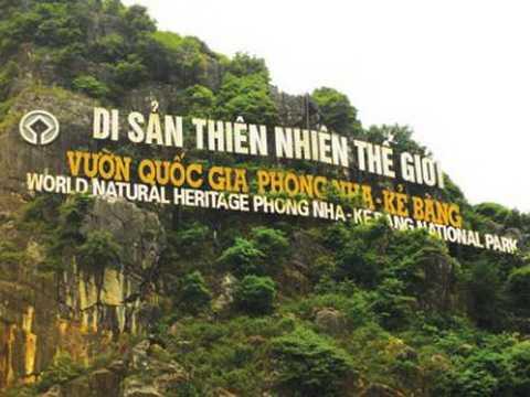 Một góc Vườn quốc gia Phong Nha - Kẻ Bàng