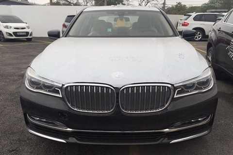 Với sự xuất hiện của chiếc xe sang BMW   750Li 2016,