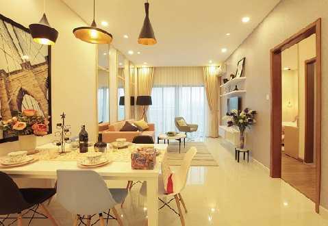 Mỗi căn hộ The TWO Residence đều có ít nhất hai mặt thoáng hướng ra những khoảng không gian xanh mát của khu đô thị Gamuda Gardens