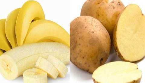 Ăn chuối và khoai tây cùng lúc sẽ khiến cơ thể mệt mỏi