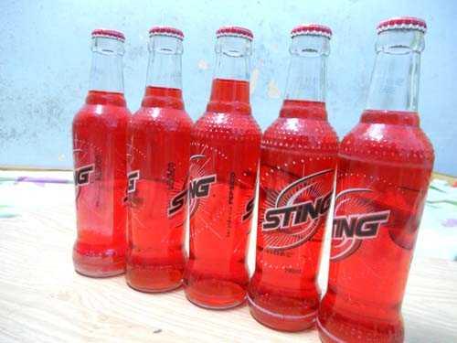Nhiều chai nước Sting có lỗi do dung tích không đều nhau.