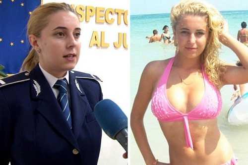 Nữ cảnh sát gợi cảm nhất thế giới