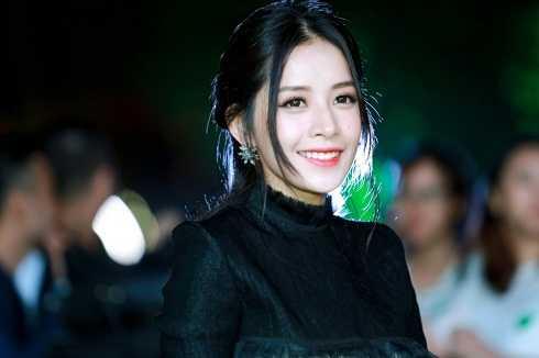 Gương mặt xinh đẹp và rạng rỡ của hotgirl Hà Nội.