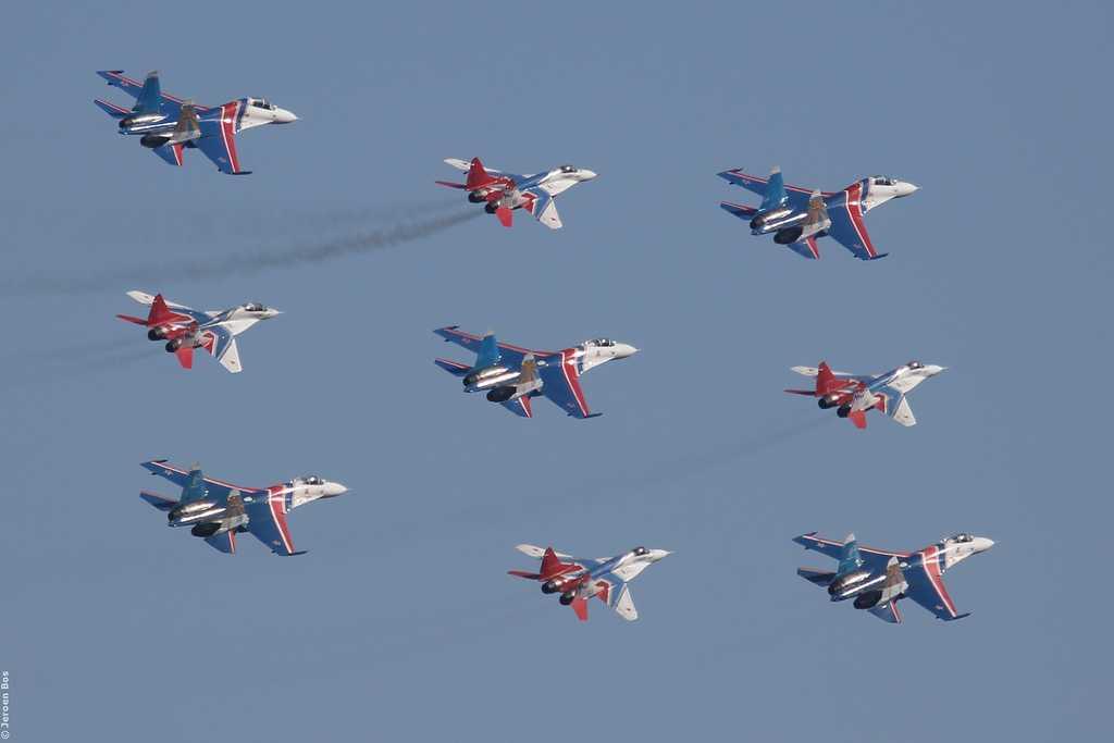 Đội bay của Không quân Nga