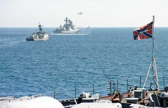 Chiến hạm Nga