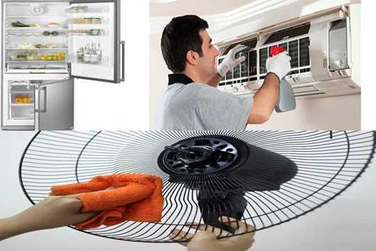 Điều quan trọng đầu tiên là phải sử dụng đúng cách các thiết bị tiêu tốn điện nhiều nhất trong gia đình bạn trong những ngày hè như: điều hòa nhiệt độ, tủ lạnh, quạt điện... để tiết kiệm tối đa năng lượng điện.  Ảnh minh họa.