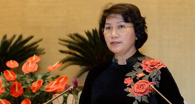 Bà Nguyễn Thị Kim Ngân là nữ Chủ tịch Quốc hội đầu tiên của Việt Nam