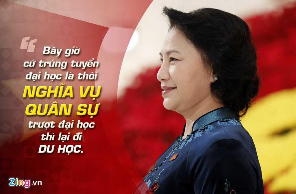 Phó Chủ tịch Quốc hội Nguyễn Thị Kim Ngân nói trong phiên làm việc của Ủy ban Thường vụ Quốc hội cho ý kiến về Luật nghĩa vụ quân sự sửa đổi sáng 14/8/2014 .