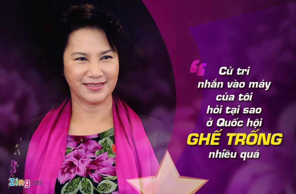 Tại phiên Quốc hội chất vấn Thủ tướng ngày   23/12/2013 , bà Ngân cho biết