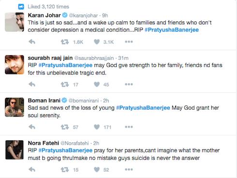 Bạn bè, gia đình và đồng nghiệp cũng chia buồn trên Twitter.