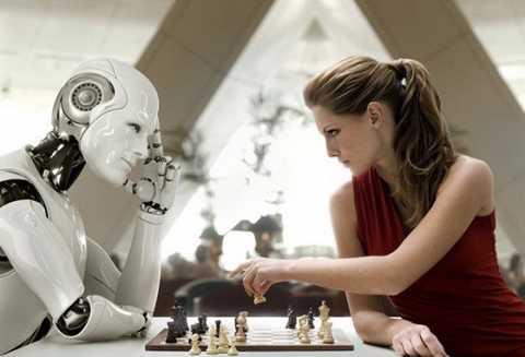 Người máy có thể bắt chước nhiều hoạt động của con người. Ảnh: Wonderingfair.