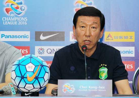 HLV trưởng Choi Kang-hee (Jeonbuk Hyundai Motors)