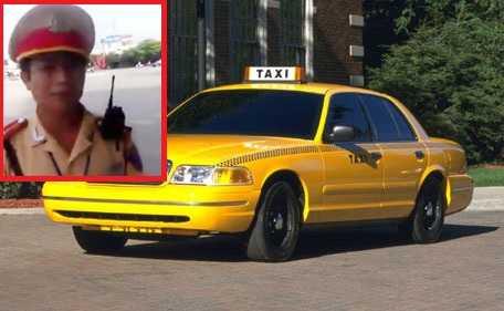 CSGT tại Hải Dương bắt lỗi trang phục tài xế taxi khiến cư dân mạng xôn xao.